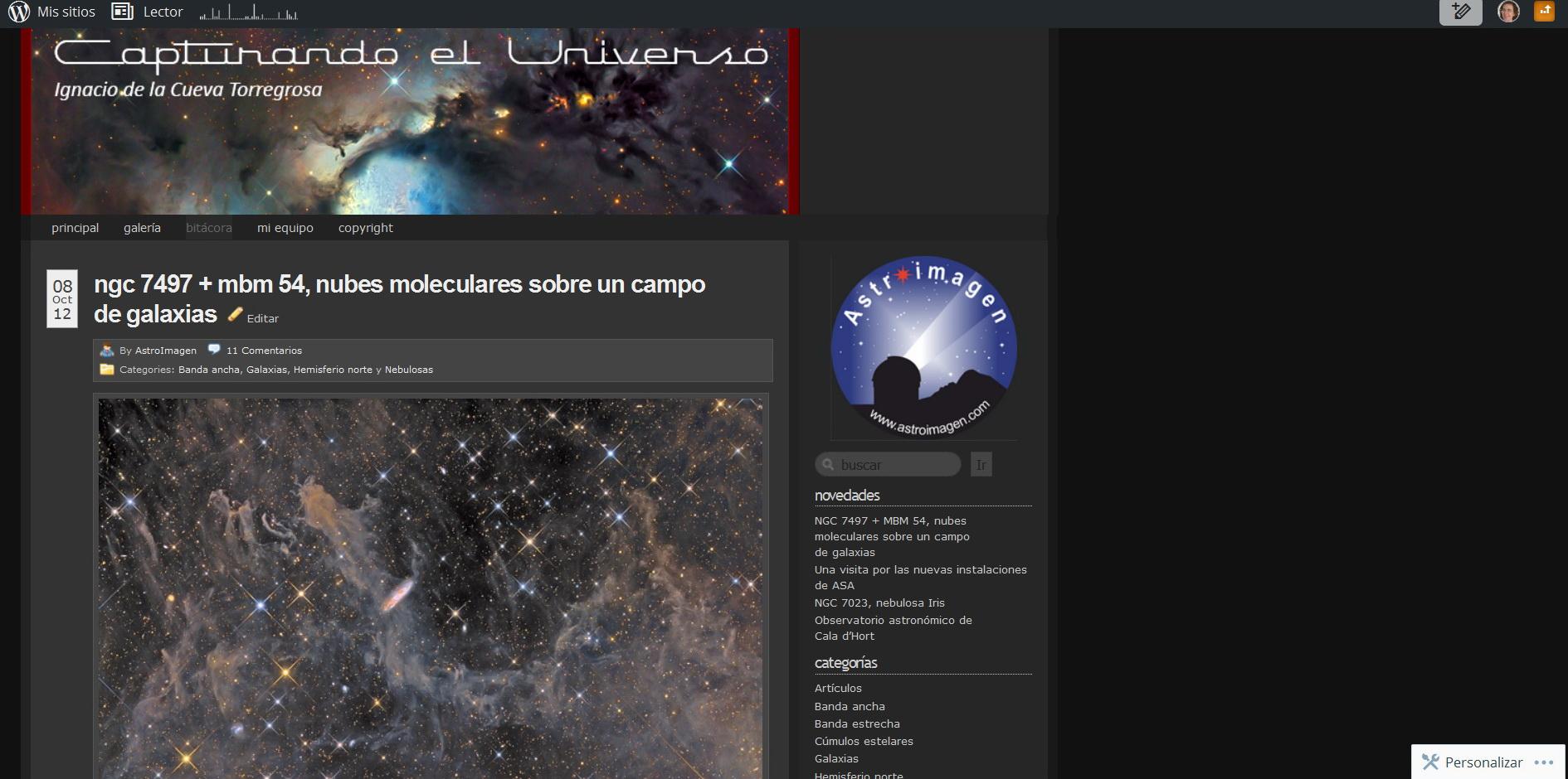 Capturando el Universo