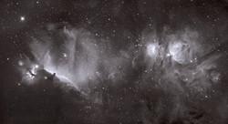 Nebulosas de El Caballo y Orión