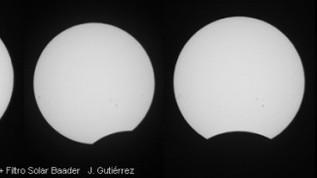 Imágenes del eclipse de Sol del 3/11/2013