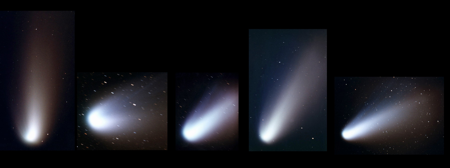 Cometa Hale Bopp en 1995