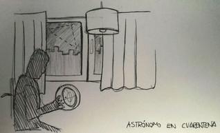 Astrónomo en cuarentena