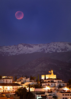Eclipse total de Luna el 15/06/2011