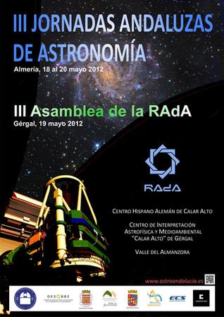 III Jornadas Andaluzas de Astronomía en Almería