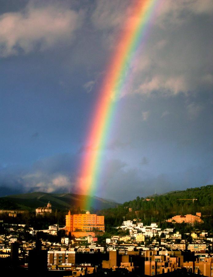 Arcoiris en Granada