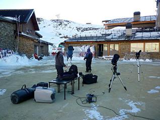 Observación en Borreguiles - Enero de 2012