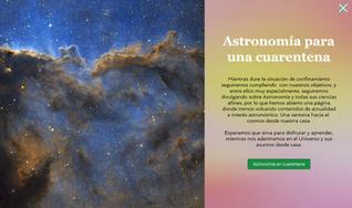 Astronomía para una cuarentena