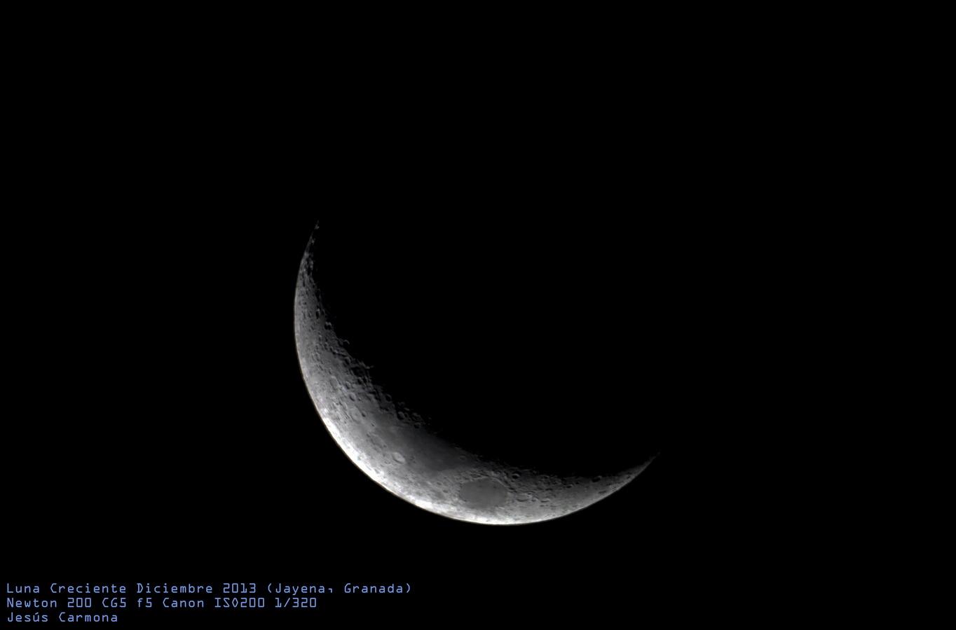 Luna creciente (06/12/2013)