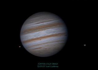 Últimas imágenes de Júpiter