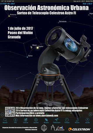 Observación astronomica urbana
