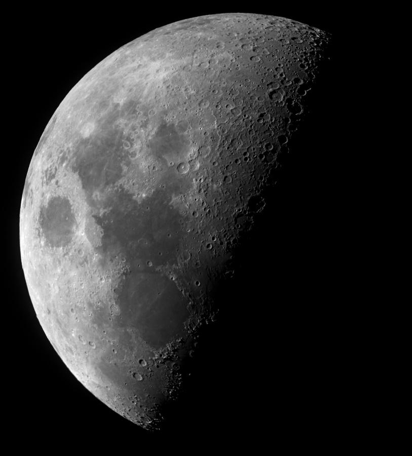 La Luna - mosaico de imágenes