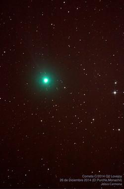 Cometa Lovejoy en 2014