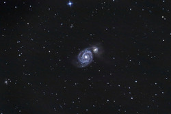 M51 - Galaxia Remolino
