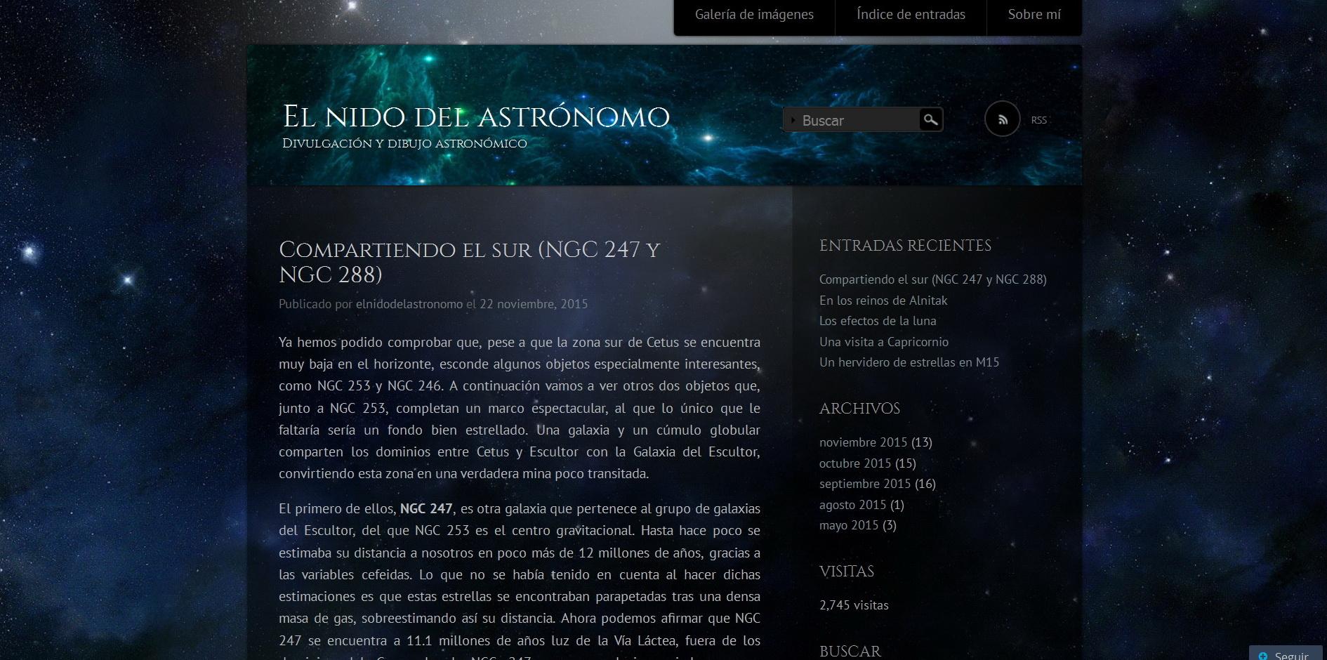 El Nido del Astrónomo