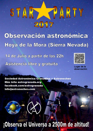 STAR PARTY 2017: Observación Astronómica en Sierra Nevada