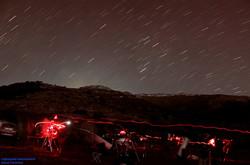 Astrónomos, telescopios y estrellas