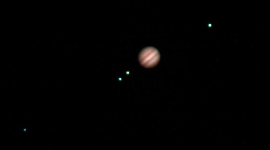 Júpiter y los satélites Galileanos