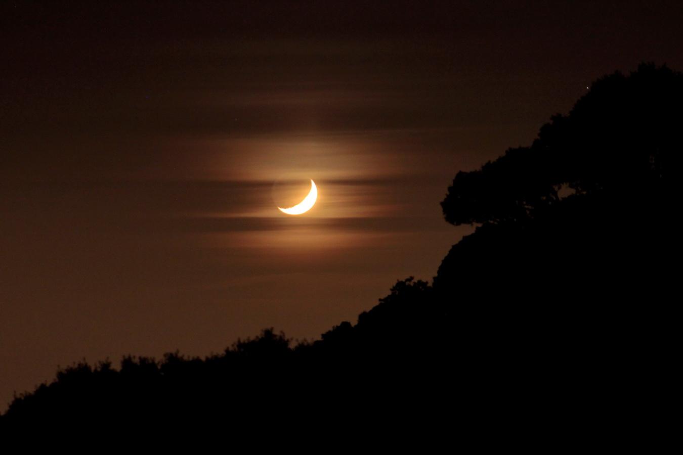 Luna poniente
