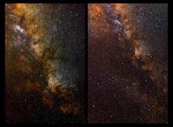 Vistas de la Vía Lactea en Sagitario