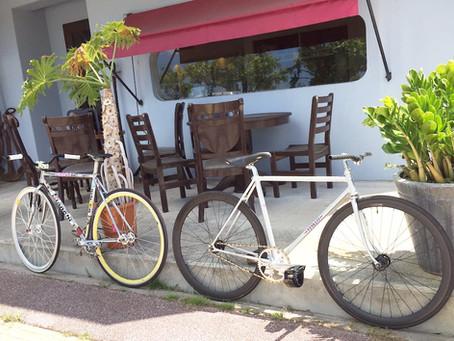 ロードバイクとアートがあるピザの店『PORTO』(ポルト)②
