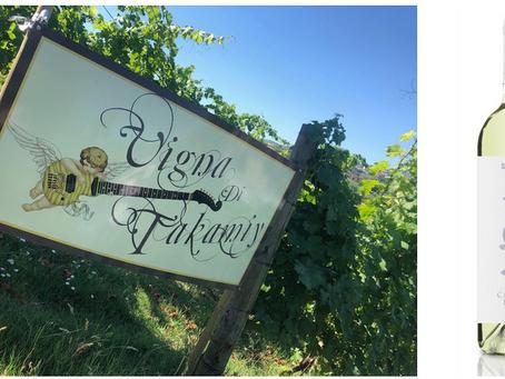 サンマリノワインの新作、TAKAMIYコラボの 微発泡白ワイン『白騎士』いよいよ発売!!