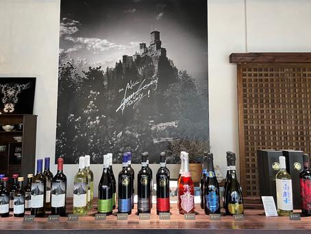 サンマリノワインを飲んでみませんか? 5月のショップは毎週試飲会!