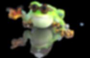 Lucky Frog Tarot Mascot