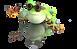 Lucky Frog Tarot Mini Mascot
