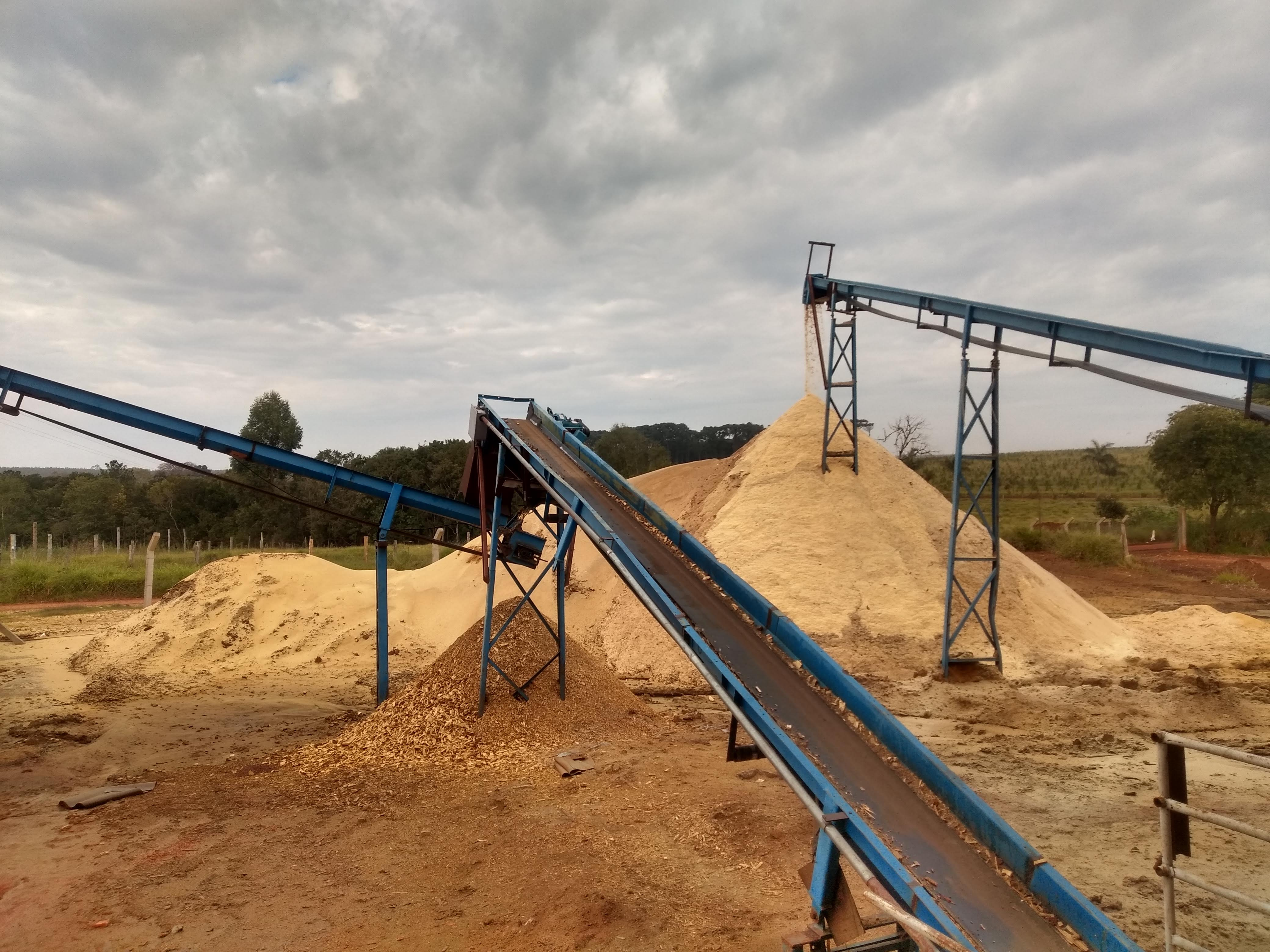 Biomassa - Pó de Serra