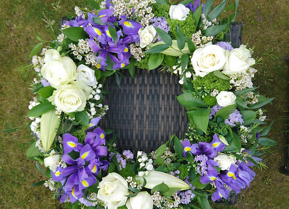 Funeral Wreath Tribute