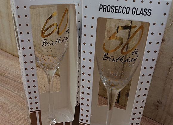 Prosecco Celebration Glass