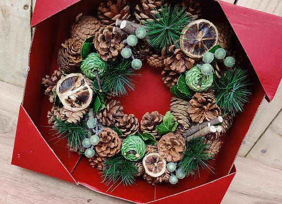 Artificial Green Wreath
