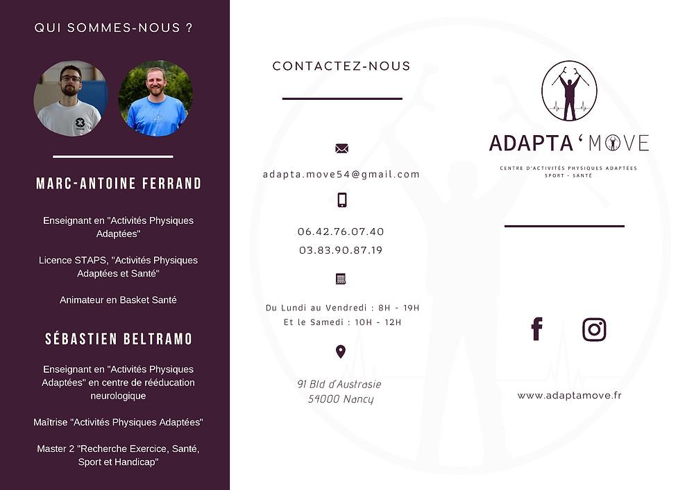 Page 1 de la brochure