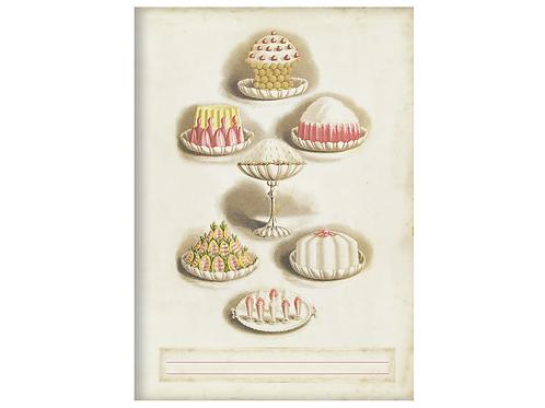 Kladde »Selection of Sweets« (A5)