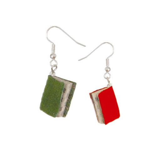 Einzel-Ohrring »Minibuch«