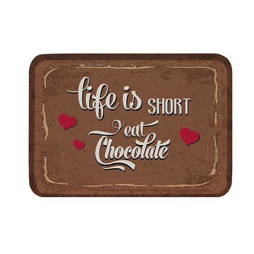 Tablett small »Life is short«
