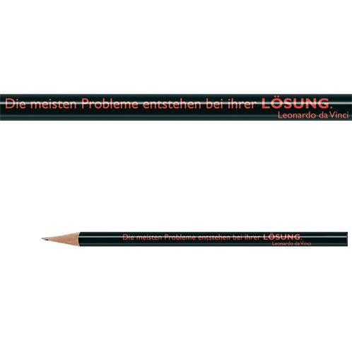 Zitate-Bleistift, Da Vinci, Lösung