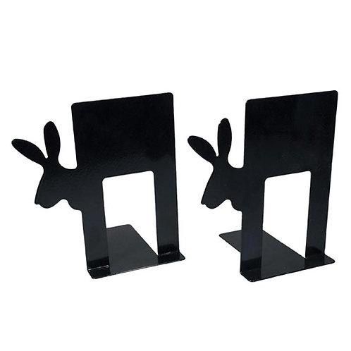 Buchstützen »Bunny«, schwarz
