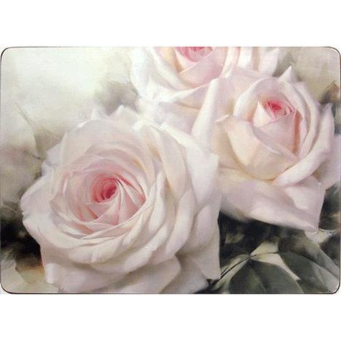 Tischset mit Korkrücken »Romantic Rose«
