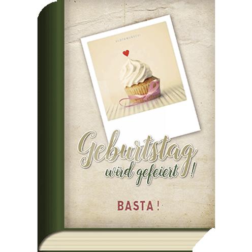 BookCard »Geburtstag wird gefeiert! Basta!«