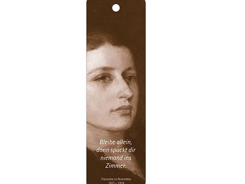 Lesezeichen »Franziska zu Reventlow«
