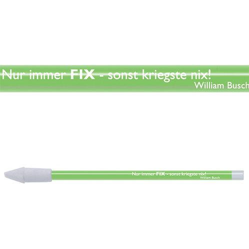 Zitate-Bleistift, Busch, Fix