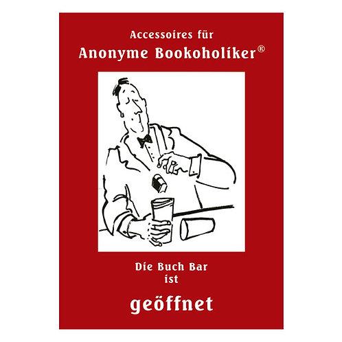 Mini-Poster für anonyme Bookoholiker