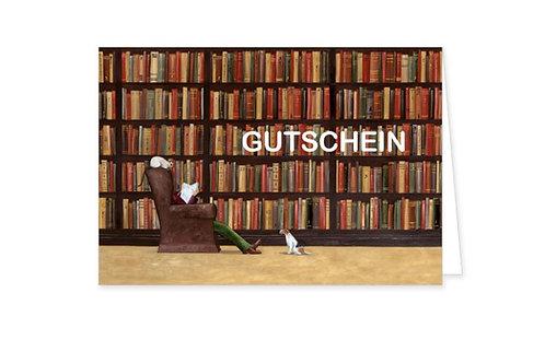 Gutschein-Karte »Bitte nicht stören«