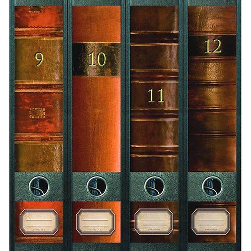 Panorama-Rücken »Old Books« (9-12)