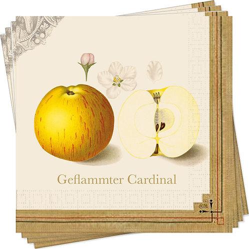 Servietten »Pomologie der Äpfel«