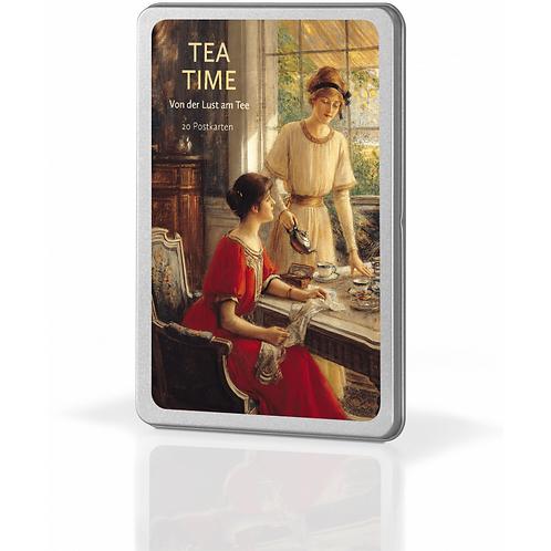 Postkartenset »Tea Time«
