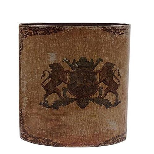 Papierkorb mit Wappen (klein)