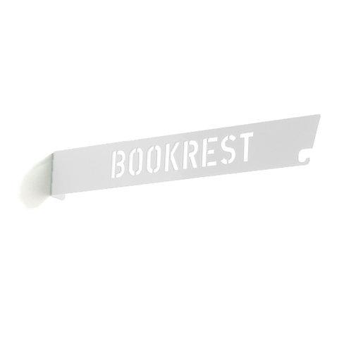 Lesezeichenregal »Bookrest«, weiß