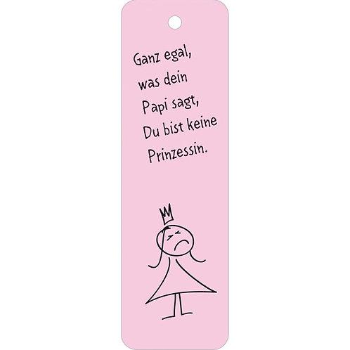 Lesezeichen »Du bist keine Prinzessin«