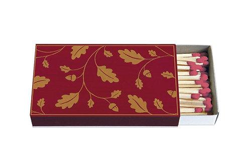 Zündholz-Schachtel  »Eichenblätter«